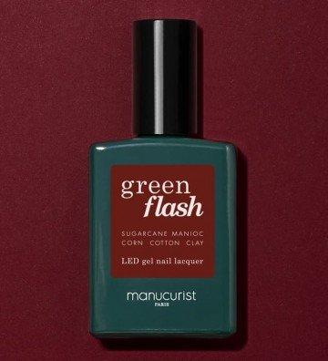 Vernis Green Flash Dark Pansy