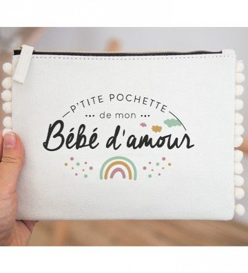Bébé d'amour - Pochette pompon