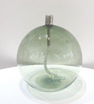 Boule Verte XL - Lampe à huile