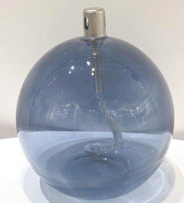 Boule Bleue XL - Lampe à huile