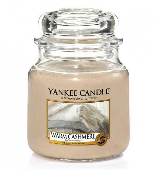 Cachemire Délicat - Moyenne Jarre Yankee Candle - 1