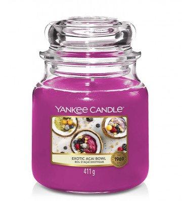 Yankee Candle Moyenne Jarre Bol Açaï Exotique