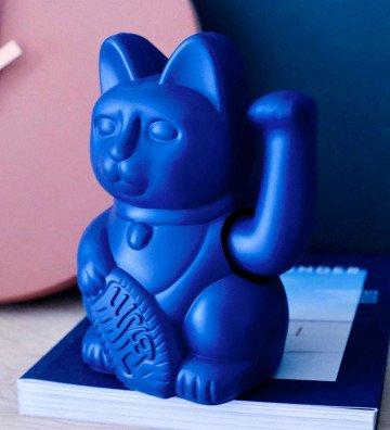 Lucky Cat - Bleu Foncé