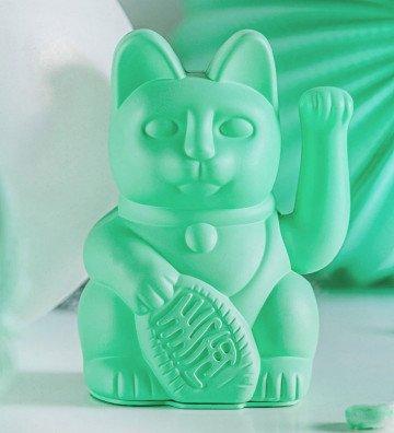 Lucky Cat - Vert Menthe