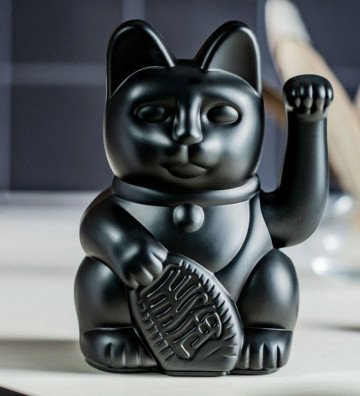 Lucky Cat - Noir
