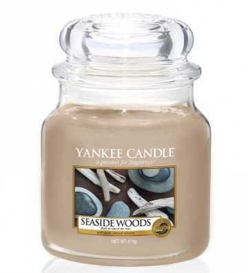 Bois en Bord de Mer - Moyenne Jarre Yankee Candle - 1