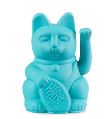 Lucky Cat Mini - Turquoise