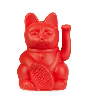 Lucky Cat Mini - Rouge