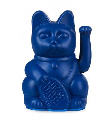 Lucky Cat Mini - Bleu Foncé