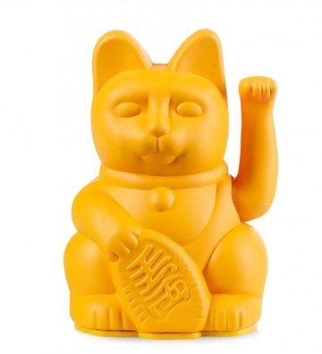 Lucky Cat Mini - Jaune Foncé