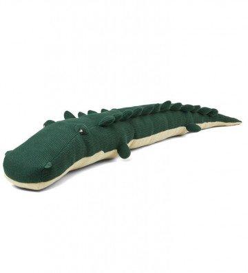 Crocodile maille vert