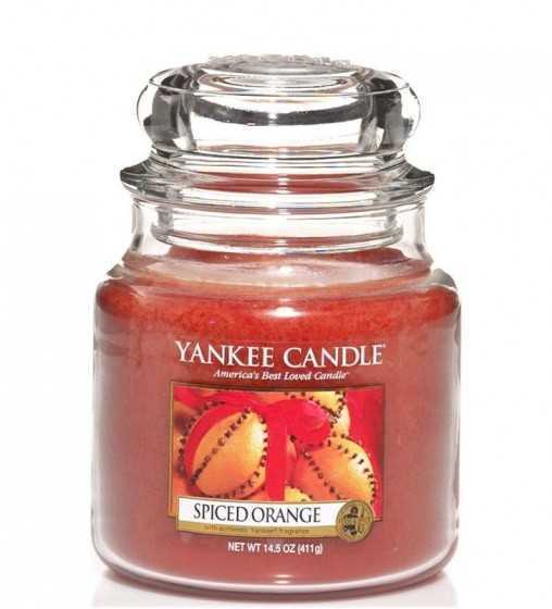 Orange Épicée - Moyenne Jarre Yankee Candle - 1