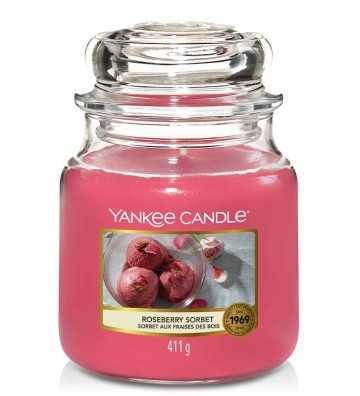 Sorbet aux Fraises des Bois - Moyenne Jarre Yankee Candle - 1