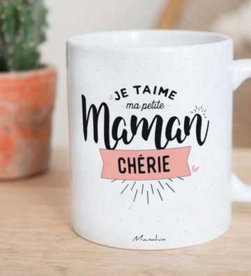 Je t'aime Maman Chérie - Mug Manahia - 1