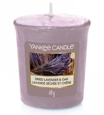 Lavande Séchée et Chêne - Votive Yankee Candle - 1