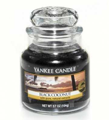Noix de coco noire - Petite Jarre Yankee Candle - 1