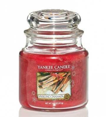 Cannelle Pétillante - Moyenne Jarre Yankee Candle - 1