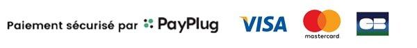 Paiement sécurisé par carte bancaire via PayPlug
