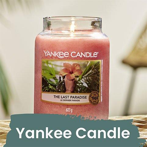 Nos bougies Yankee Candle